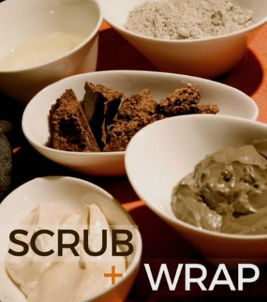 Spa Scrub Wrap Ingredients