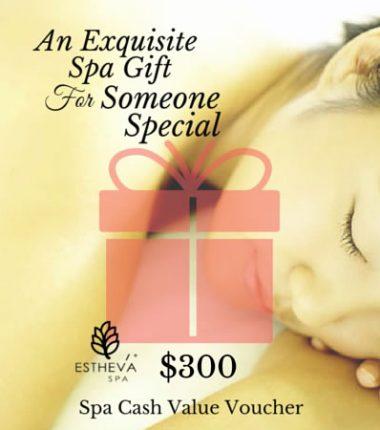 $300 Spa Cash Value Voucher