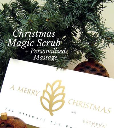 Christmas Magic Scrub Christmas Gift