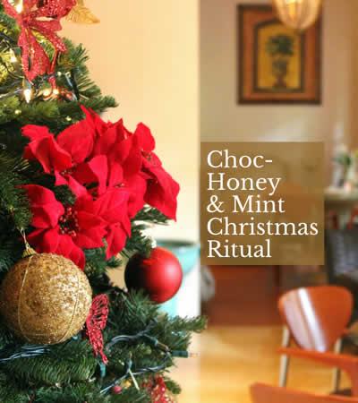 Chocolate-Honey-Mint Christmas-Spa-Ritual