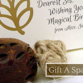 Best Spa Gift Messages