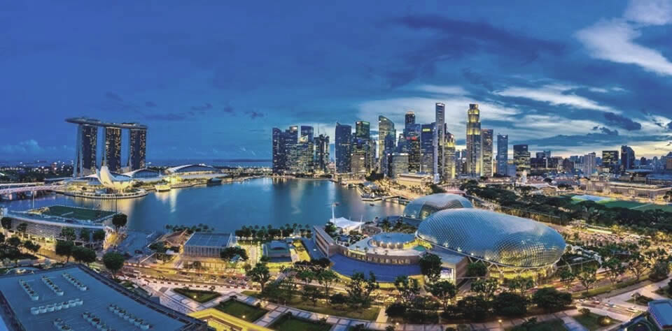 Marina Bay Scenic View