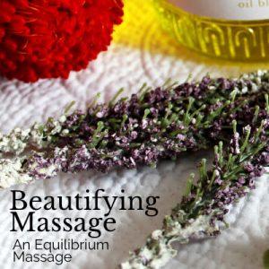 beautifying massage