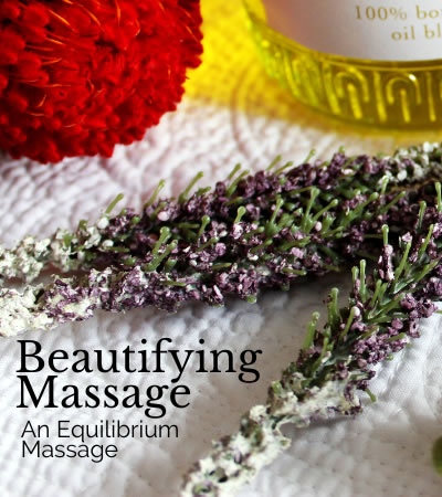 beautifying massage