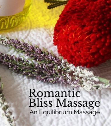 romantic couple massage