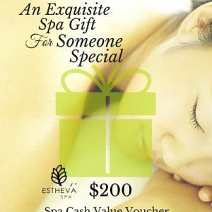 $200 Spa Cash Value Voucher
