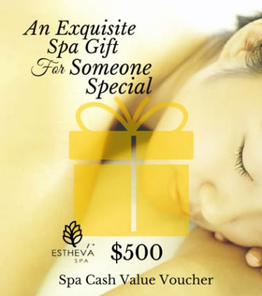 $500 Spa Cash Value Voucher