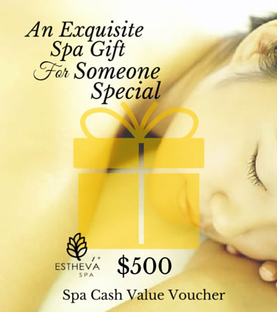 $500 Spa Cash Value Voucher